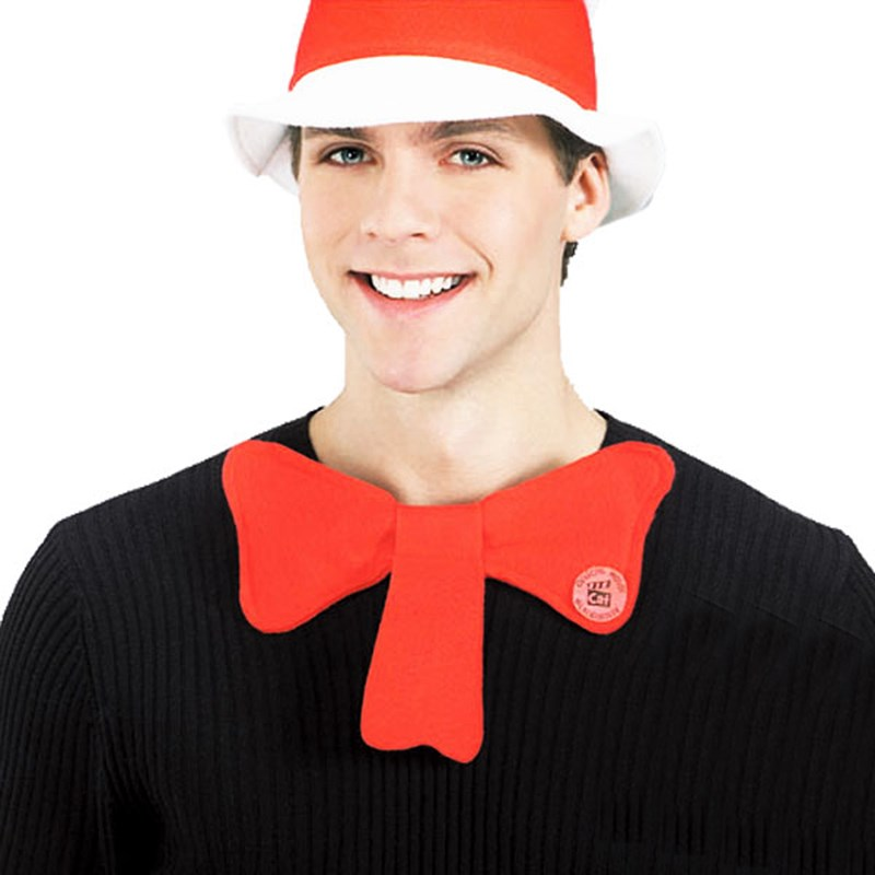 Dr. Seuss The Cat in the Hat Movie - The Cat in the Hat Bow Tie One Size