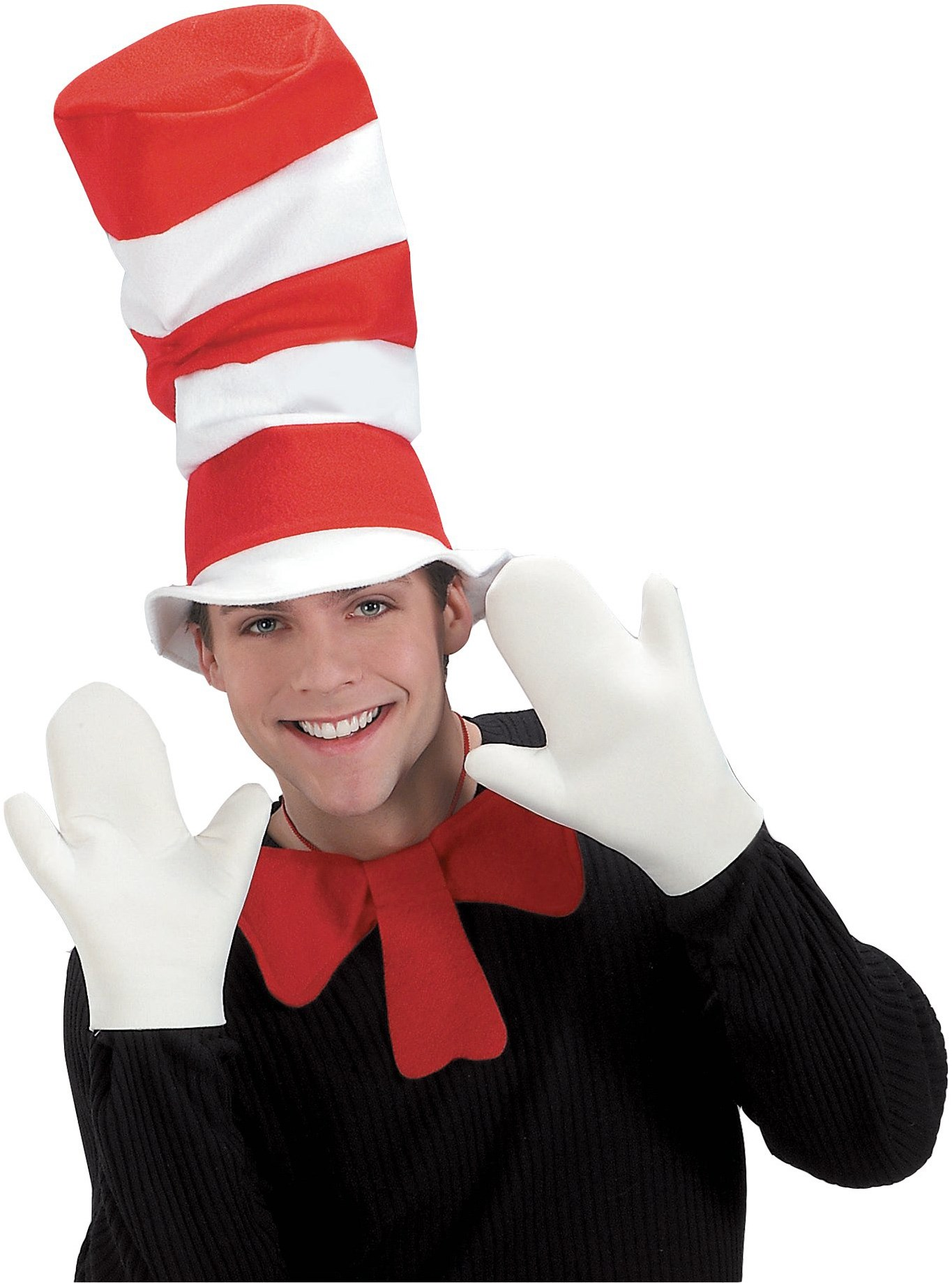 Dr. Seuss The Cat in the Hat Movie - The Cat in the Hat Mitts (Adult) One Size