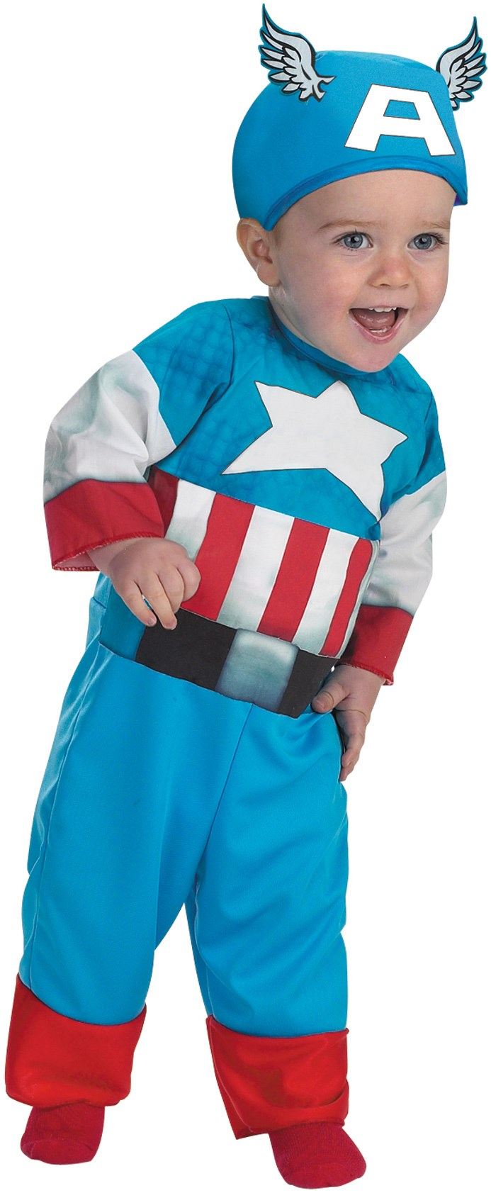 Captain America Infant / Toddler Costume Infant (12/18)