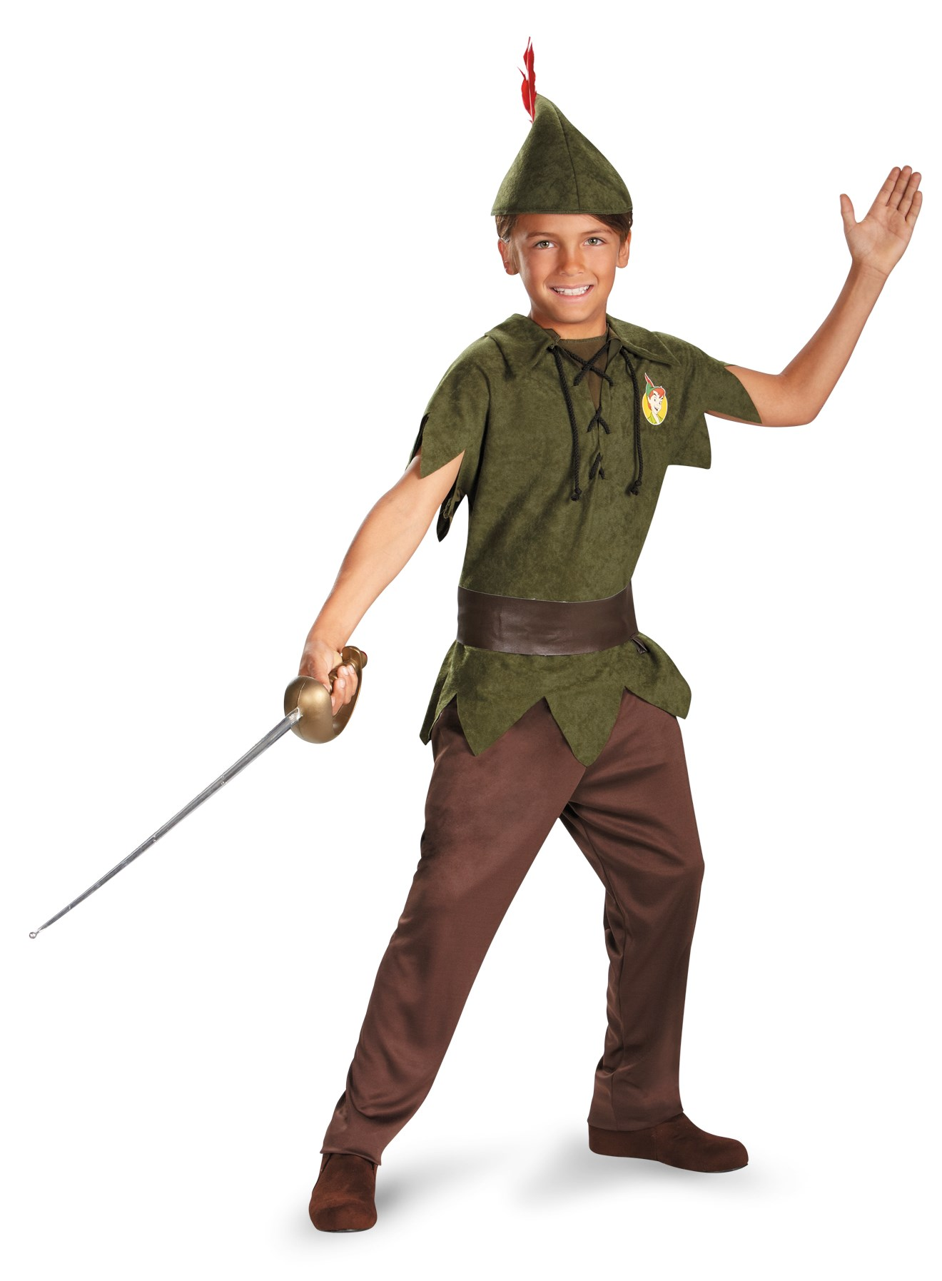 Peter Pan Disney Toddler / Child Costume Child Small (4-6)