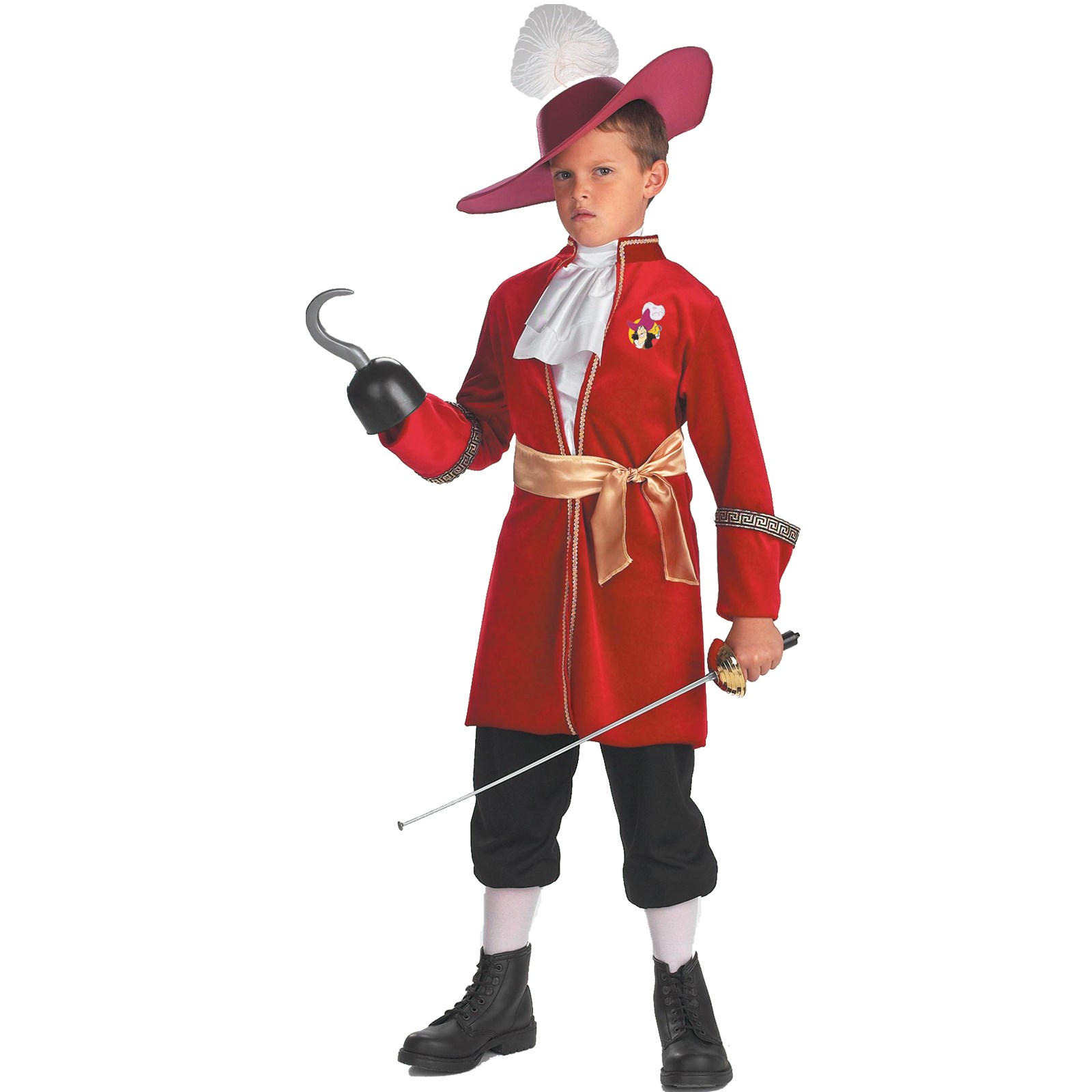 Peter Pan Disney Captain Hook Toddler / Child Costume Medium (7/8)