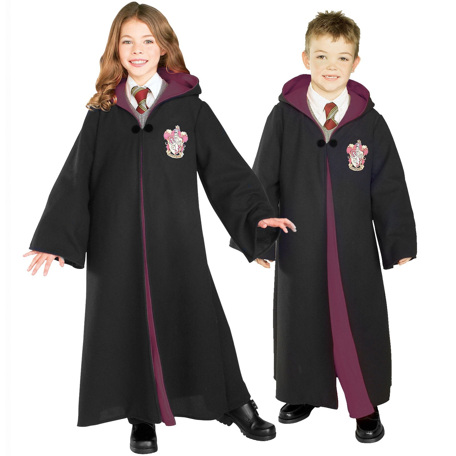Image of Harry Potter Deluxe Gryffindor Robe Child Costume 12-14