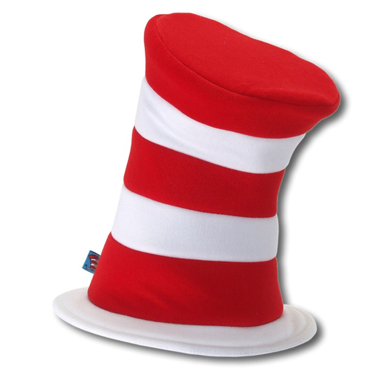 Dr. Seuss The Cat in the Hat - Deluxe Hat (Adult) Standard