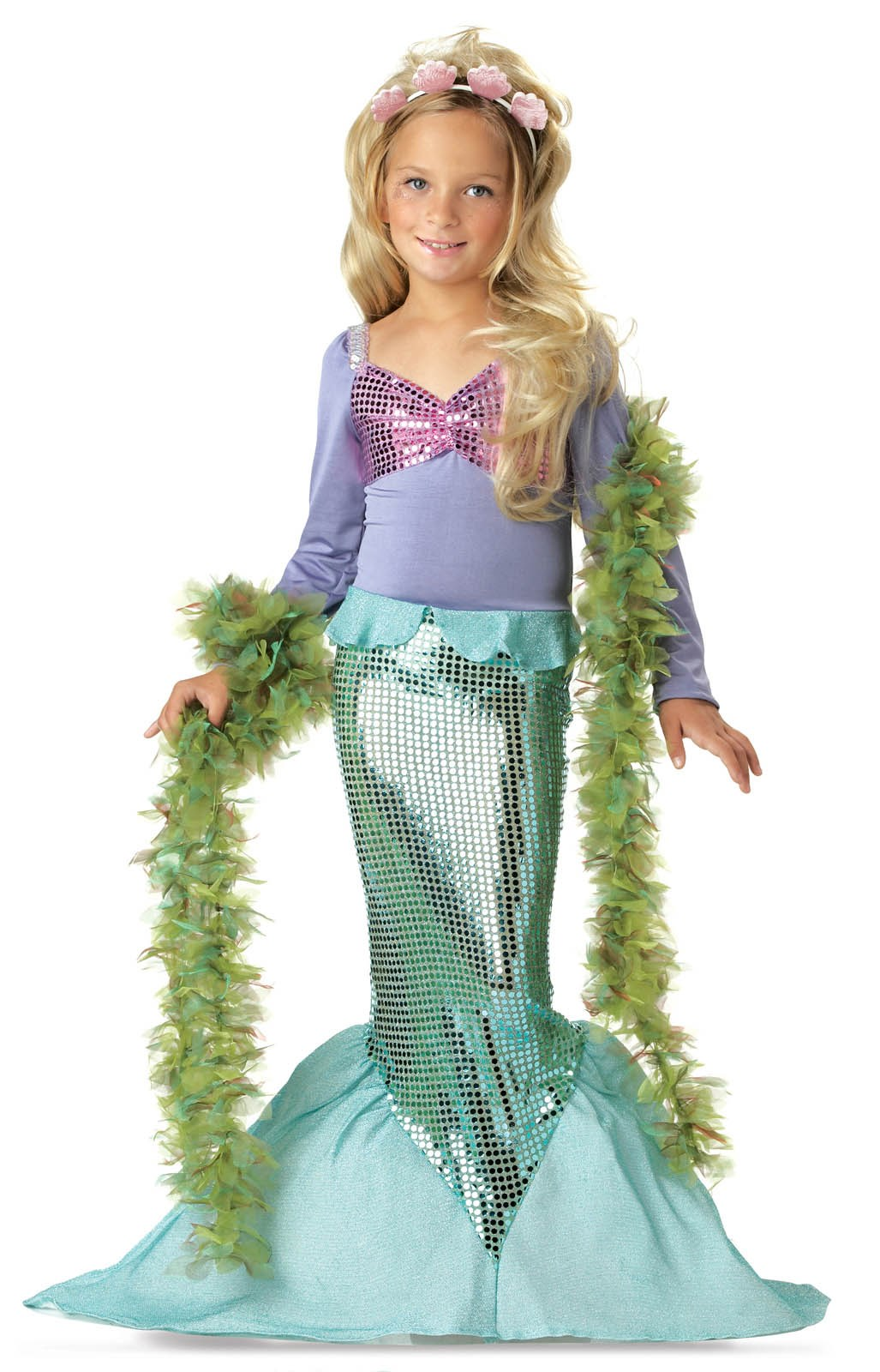 Lil' Mermaid Toddler / Child Costume Toddler (4-6)
