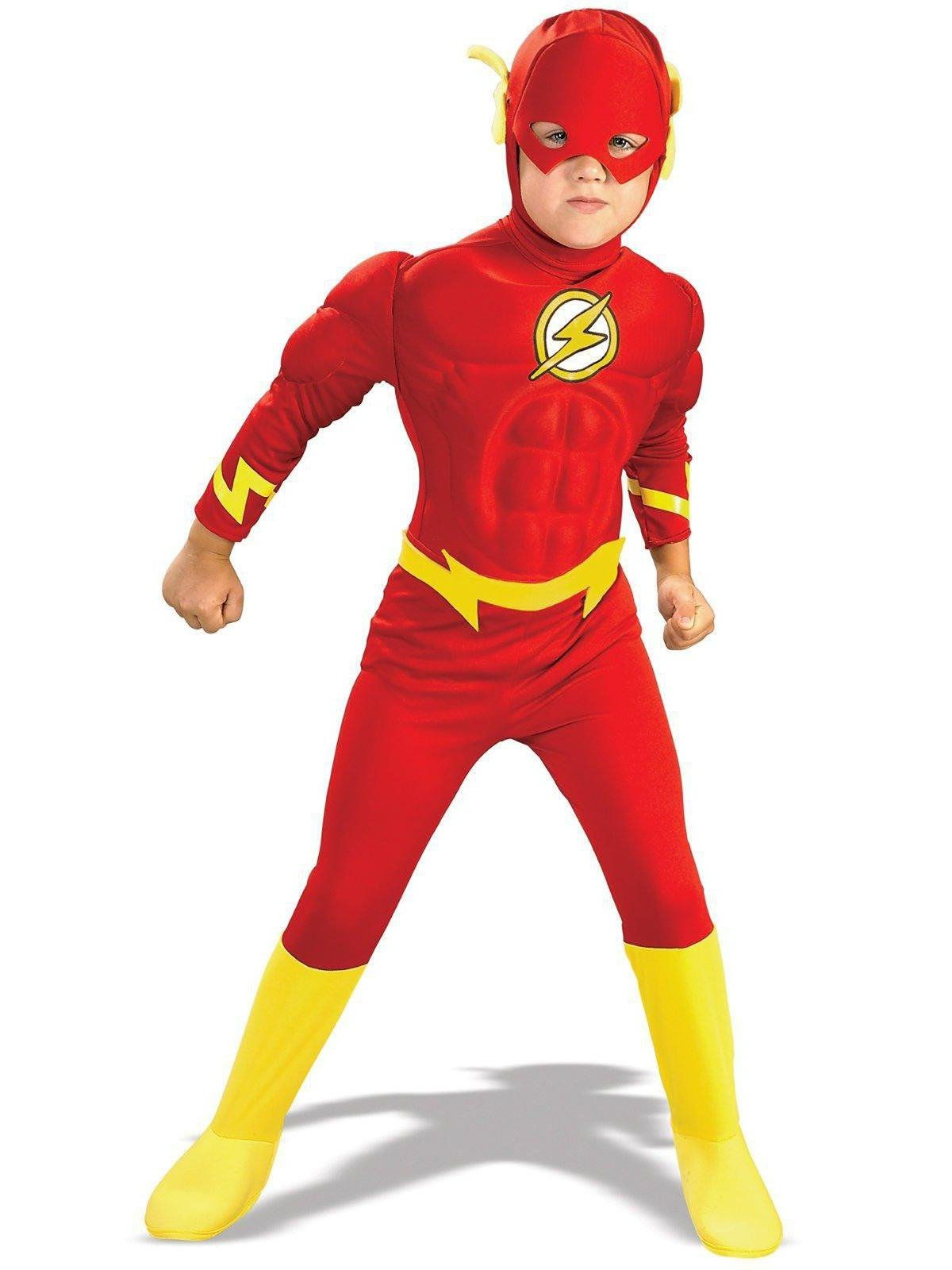 The Flash Muscle Chest Toddler / Child Costume Toddler (2-4)