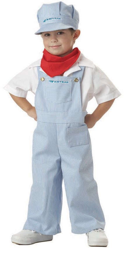 Amtrak Train Engineer Toddler Costume 3-4