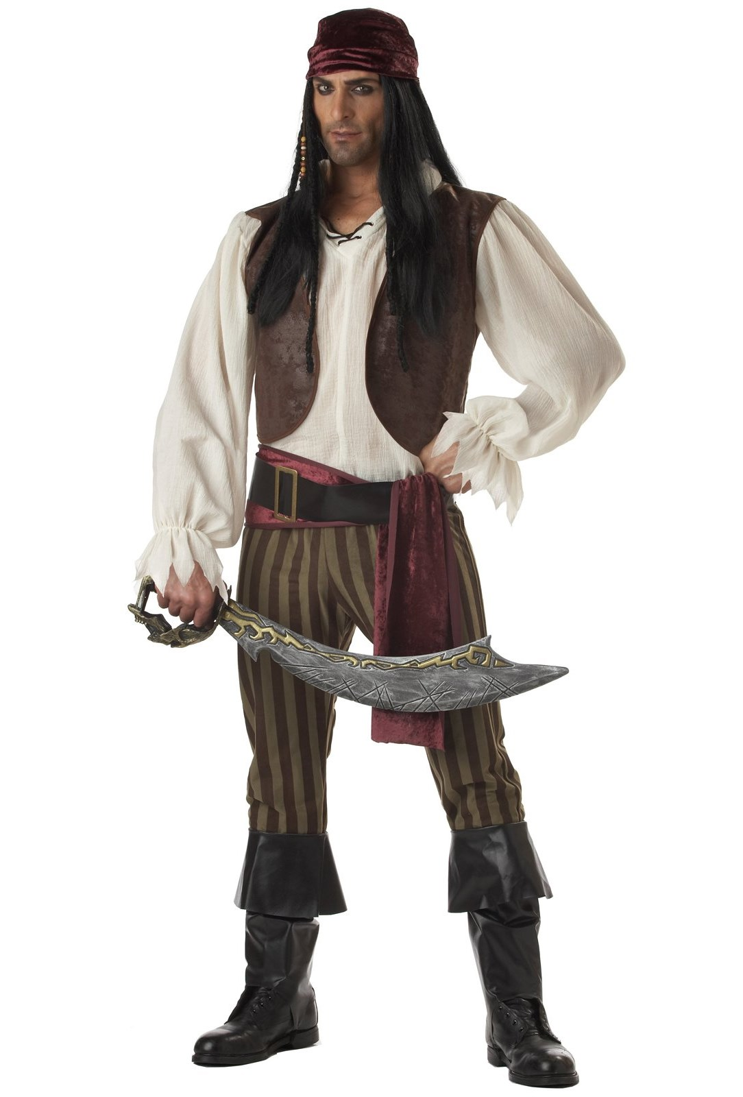 Rogue Pirate Adult Costume X-Large (44/46)