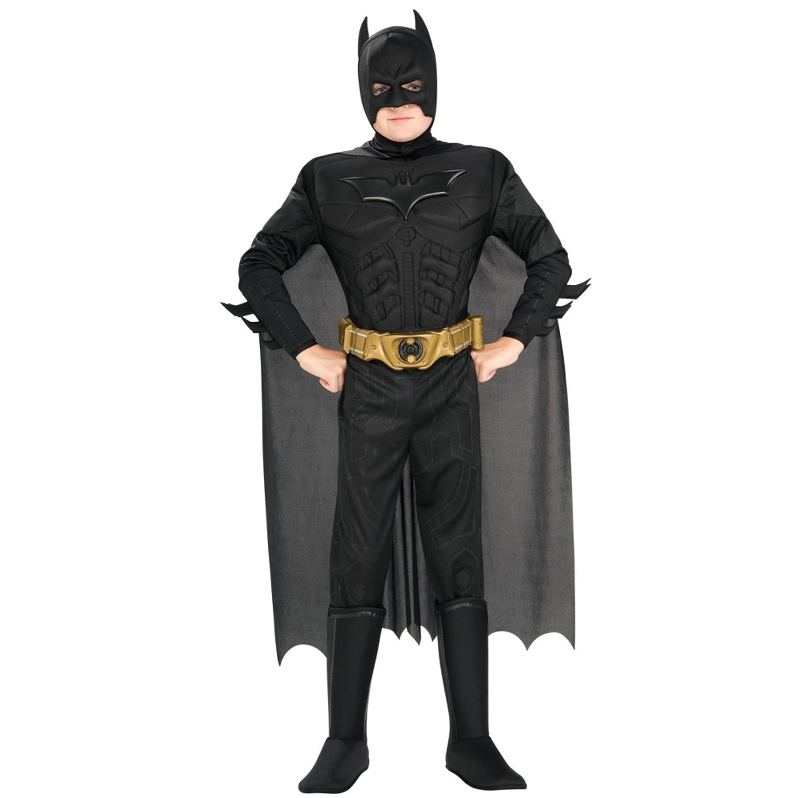 Batman The Dark Knight Rises Muscle Kids Costume 8-10