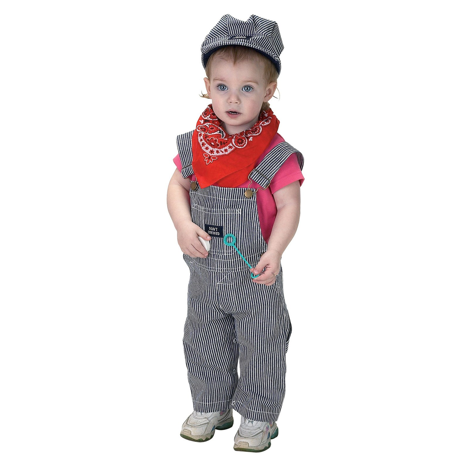 Jr. Train Engineer Suit Infant / Toddler Costume 18 Months
