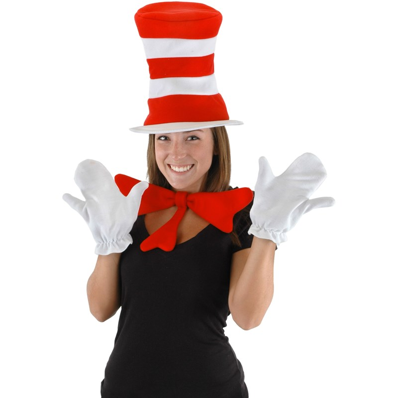 Dr. Seuss The Cat in the Hat - The Cat in the Hat Accessory Kit (Adult) One Size