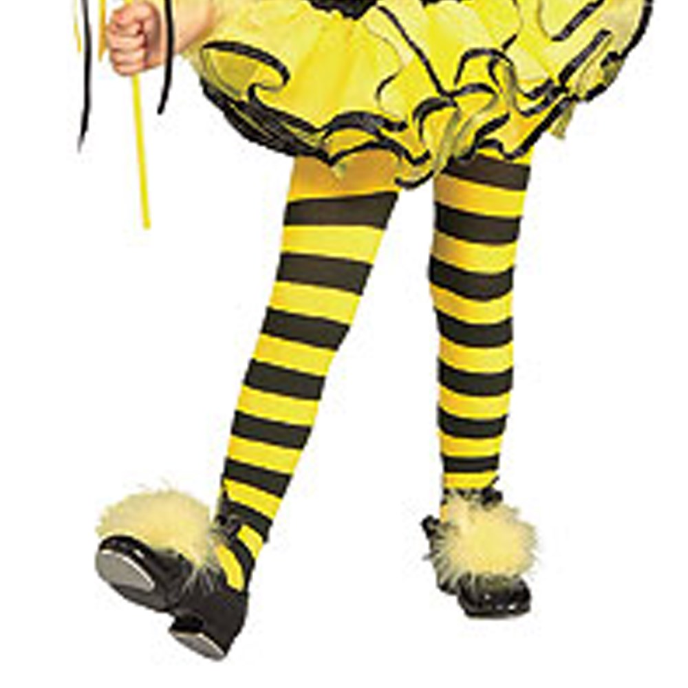 Bumble Bee Tights - Child Toddler