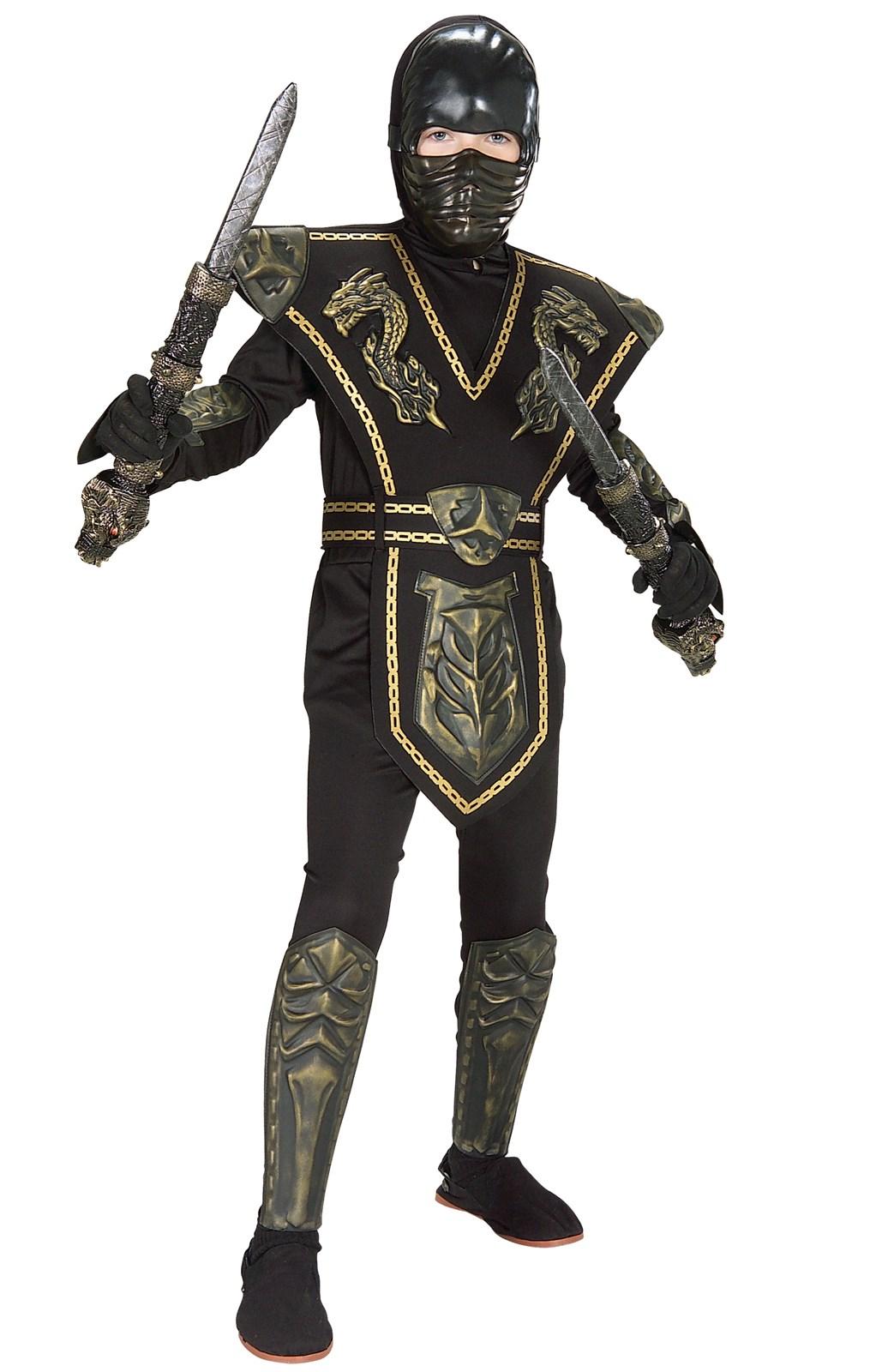 Image of Ancient Dynasty Ninja Child Costume 12-14