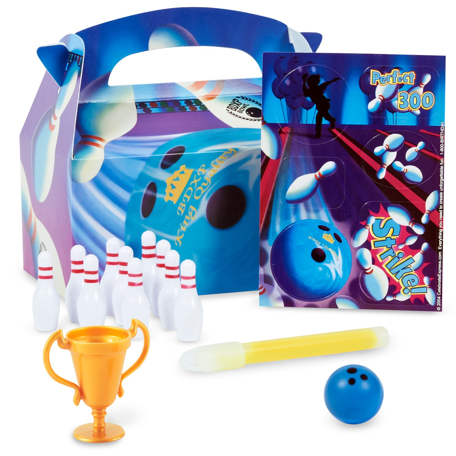 Image of Bowling Party Favor Box