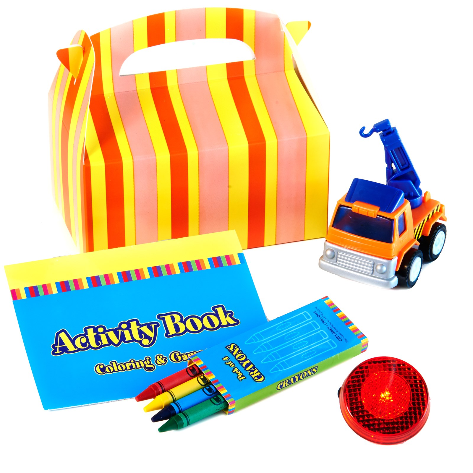 Image of Construction Pals Party Favor Box