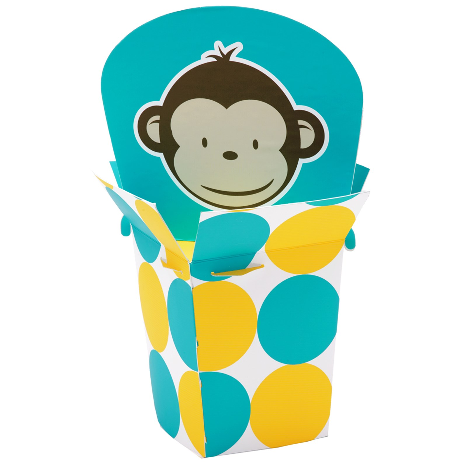 monkey centerpiece for monkey party