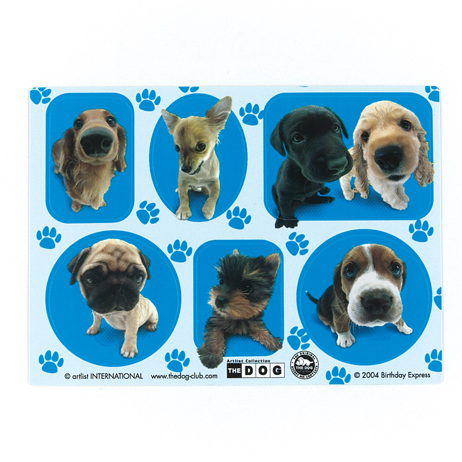 THE DOG Sticker Sheets
