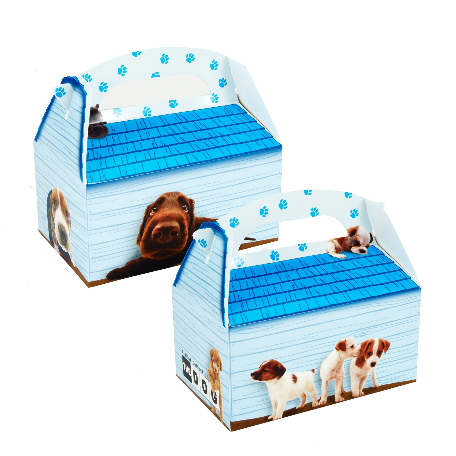 THE DOG Empty Favor Boxes