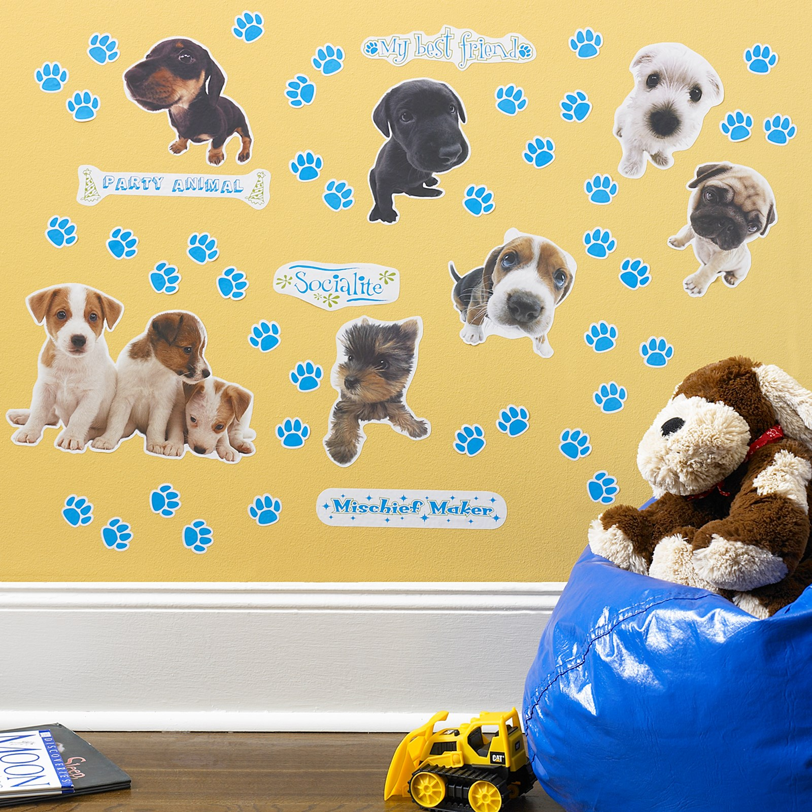 THE DOG Removable Wall Decorations