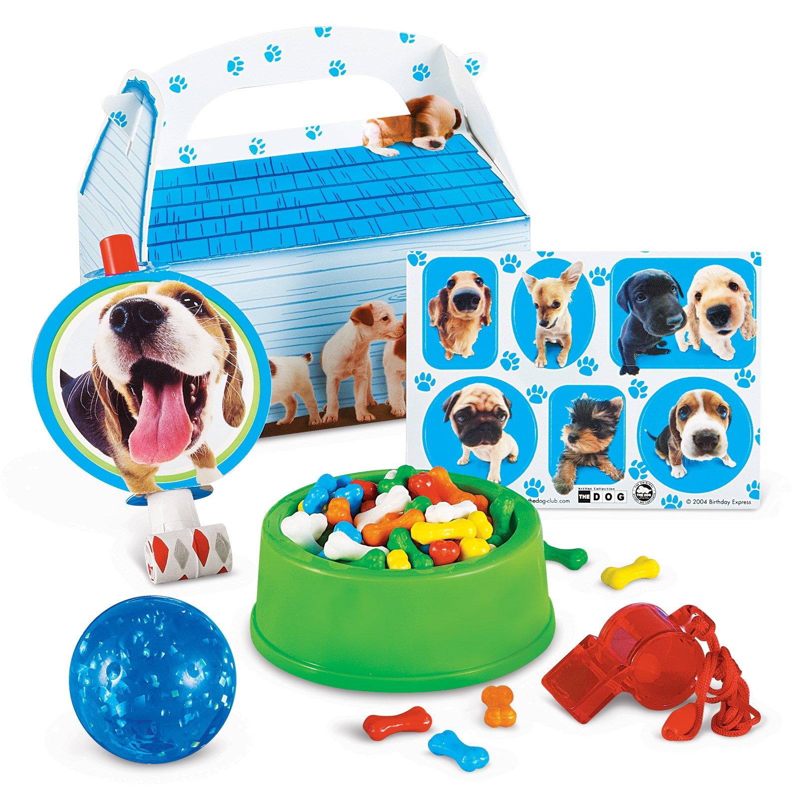 THE DOG Filled Party Favor Box