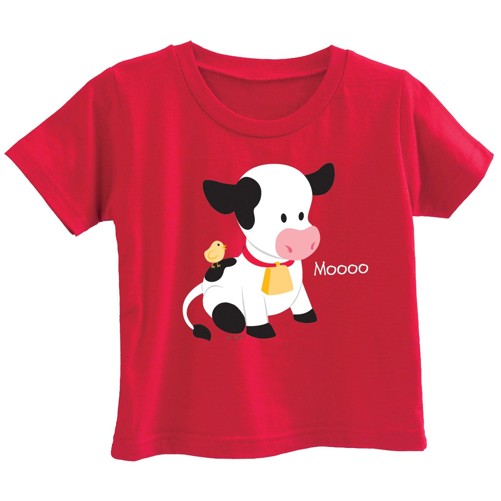 Image of Barnyard Cow T-Shirt 18 months