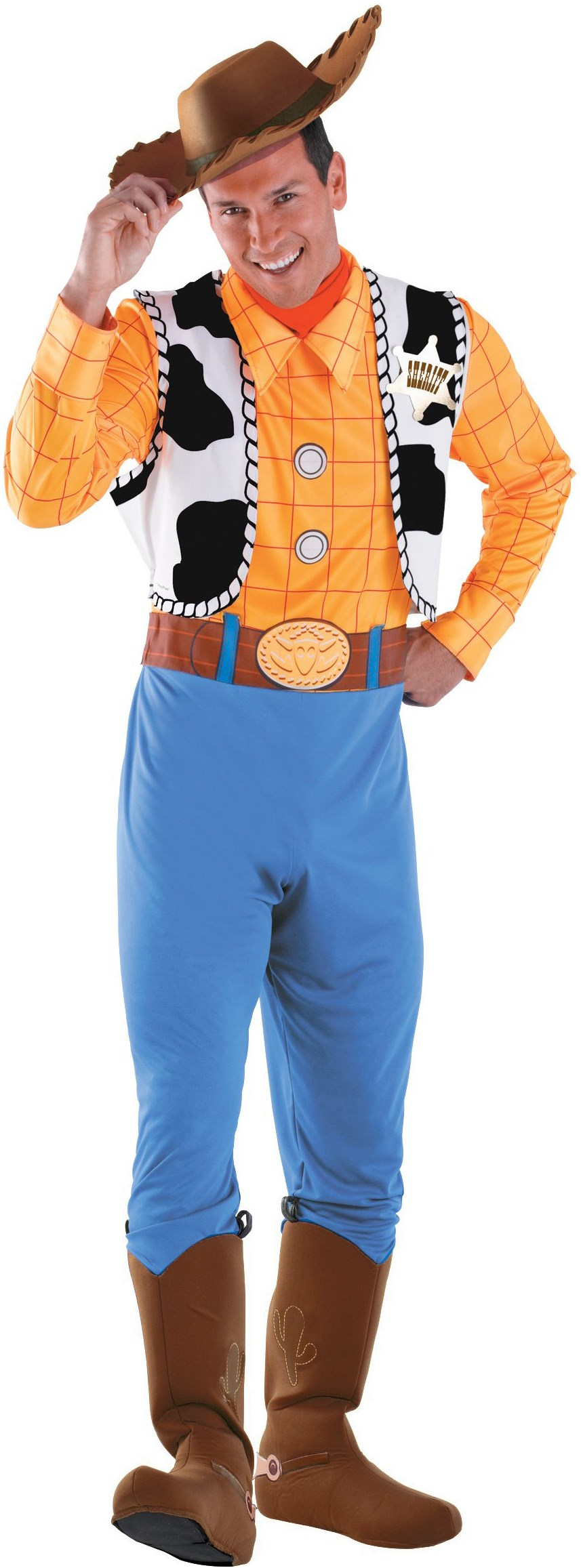 Toy Story - Woody Deluxe Adult Costume X-Large (42-46)