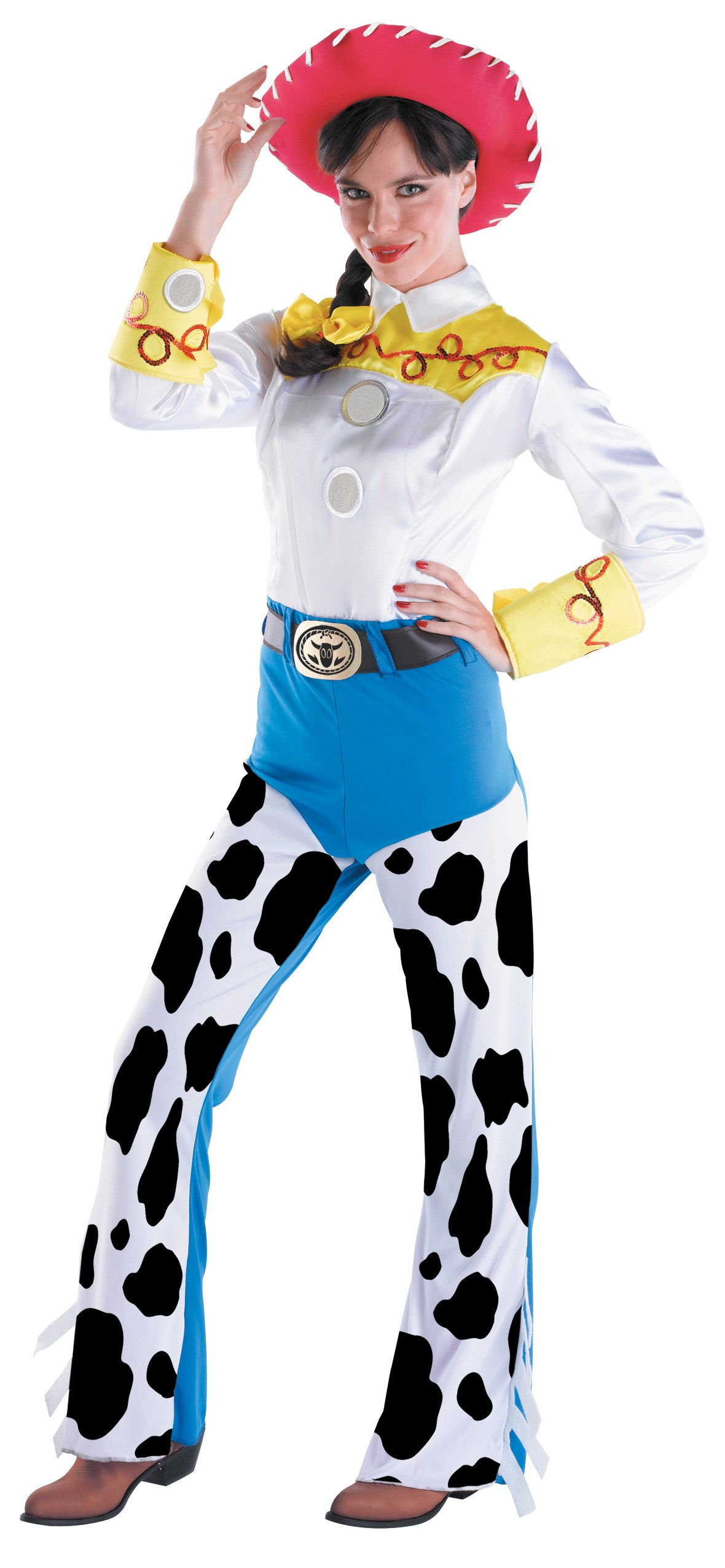 Toy Story - Jessie Deluxe Adult Costume Large (12-14)