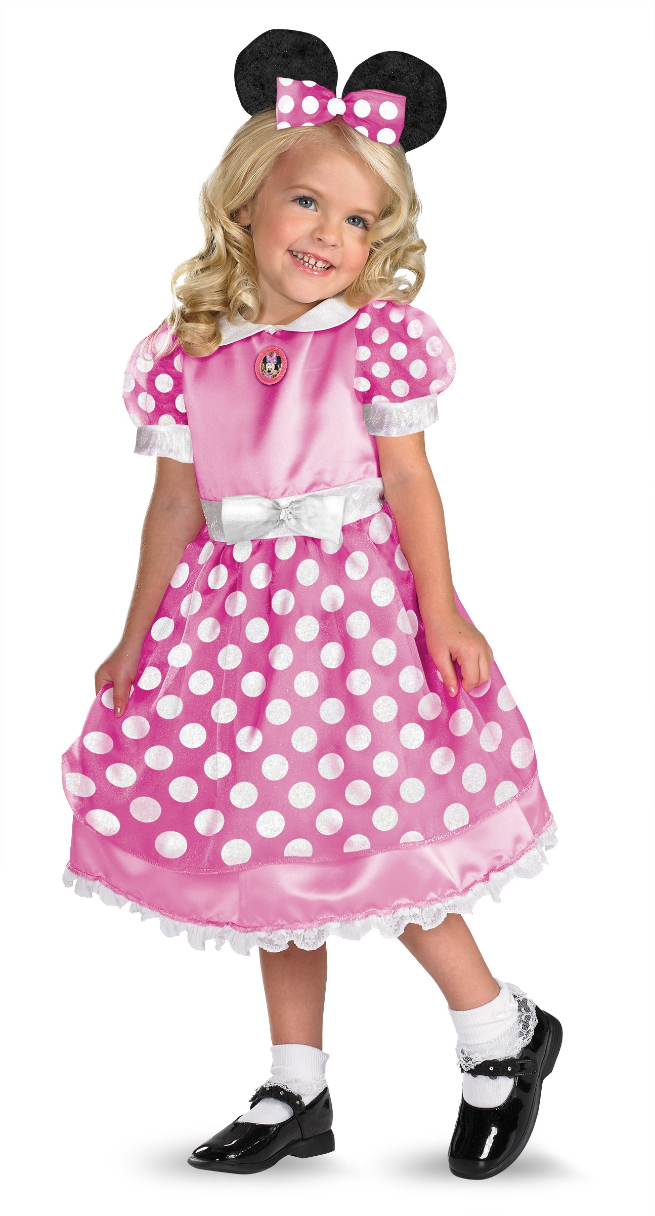 Clubhouse Minnie Mouse Pink Toddler / Child Costume Toddler (2T)