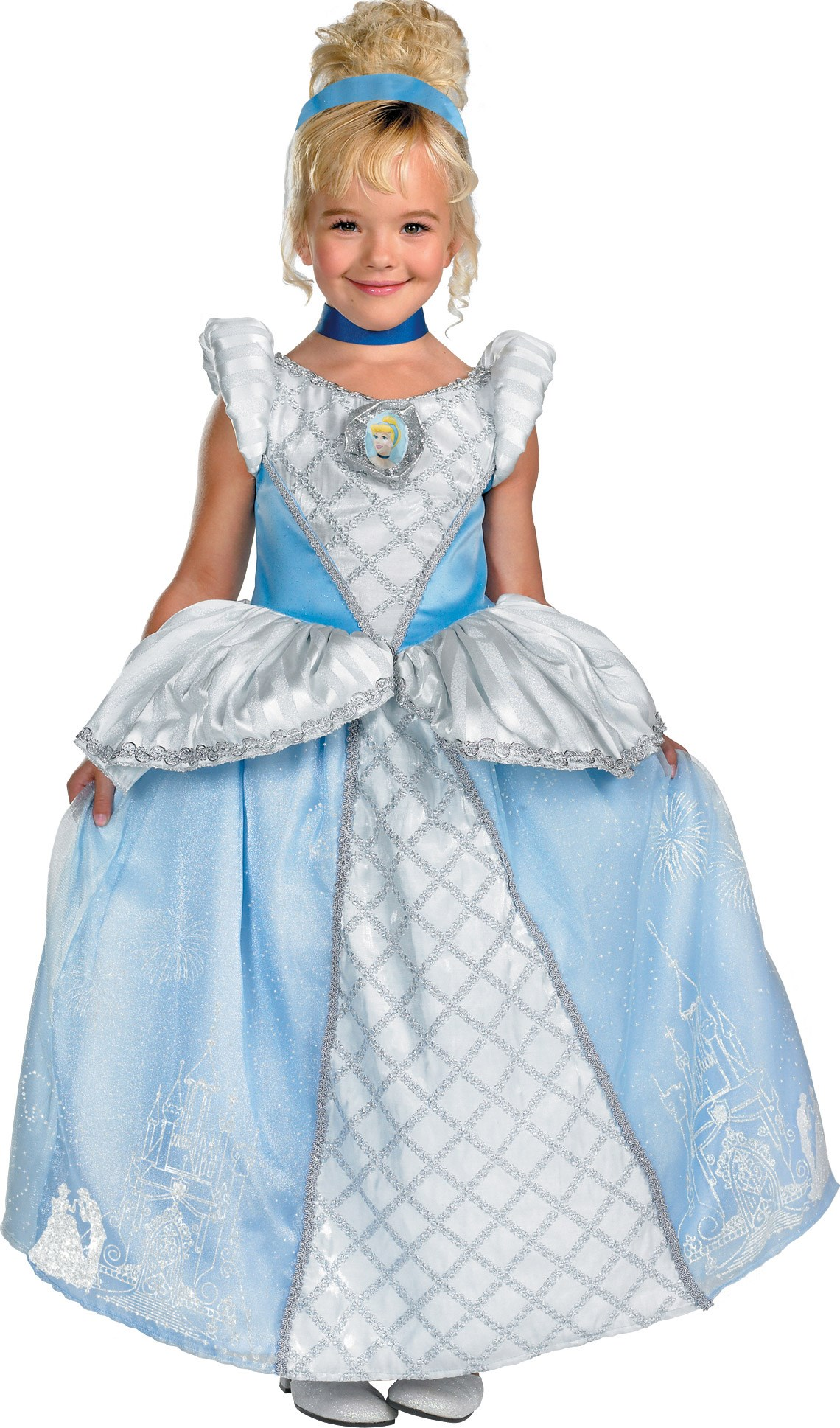 Storybook Cinderella Prestige Toddler / Child Costume Toddler (3-4T)