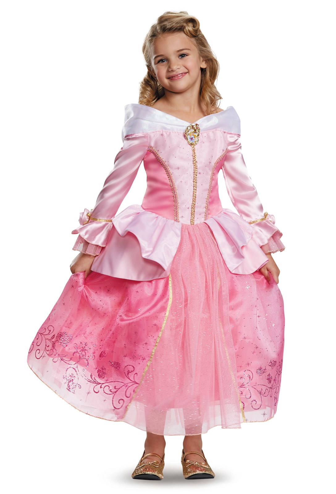 Storybook Sleeping Beauty Aurora Prestige Child / Toddler Costume Small (4-6X)