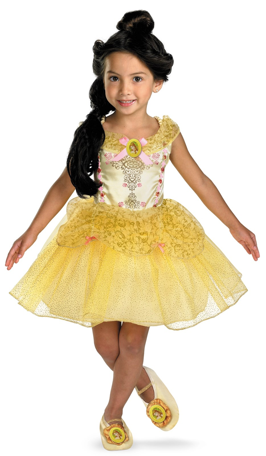 Image of Beauty and the Beast Belle Ballerina Toddler / Child Costume Child (4-6x)