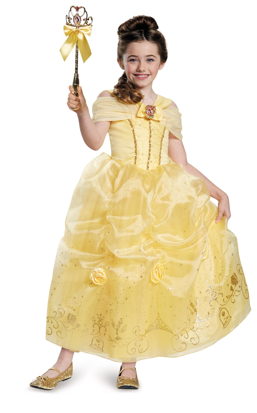 Beauty and the Beast Storybook Belle Prestige Child / Toddler Costume 3T-4T