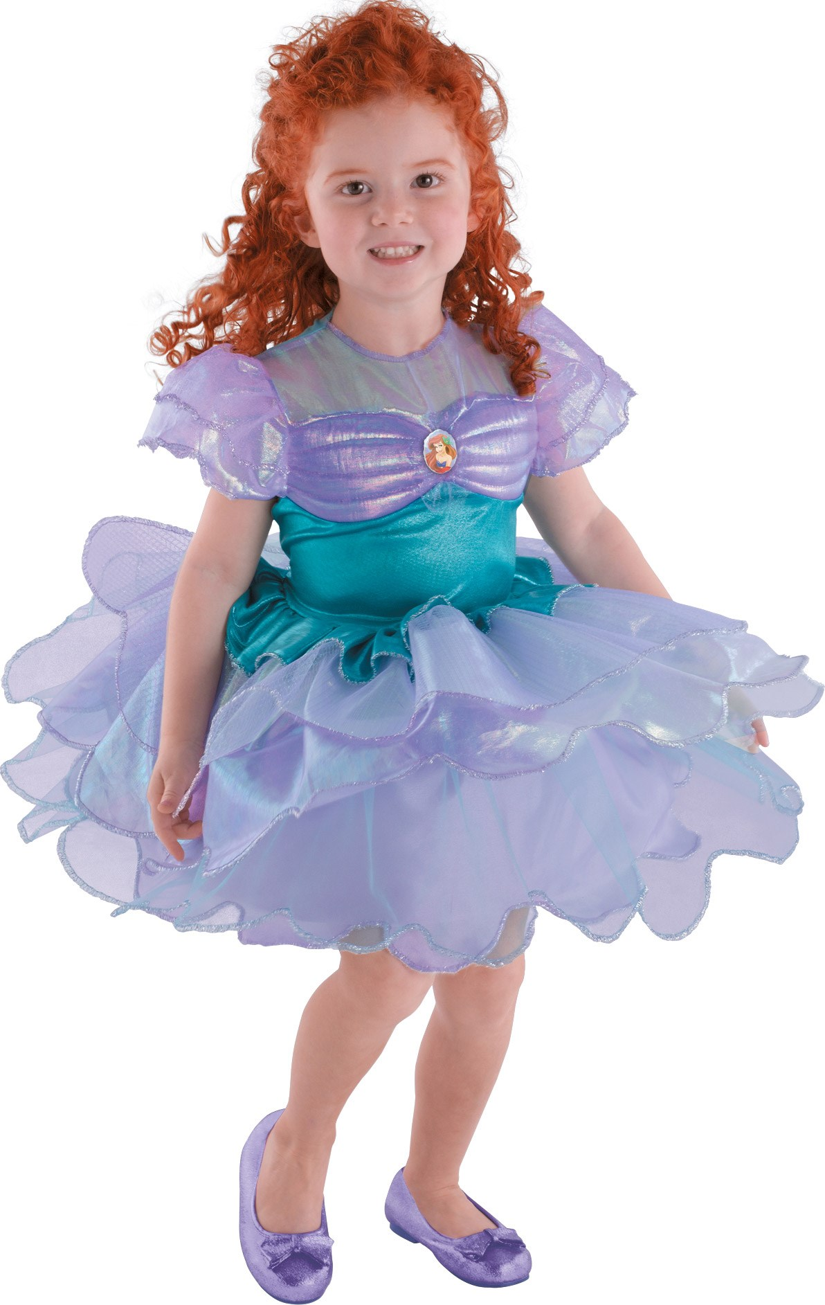 Disney The Little Mermaid Ariel Ballerina Toddler / Child Costume Child (4-6x)