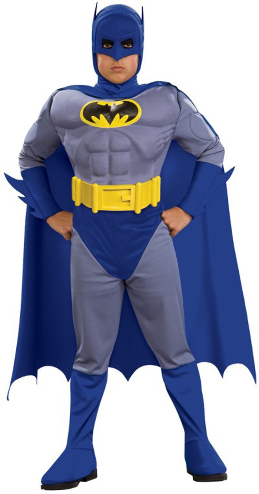 Batman Brave Bold Deluxe Batman Toddler / Child Costume Toddler (2/4)