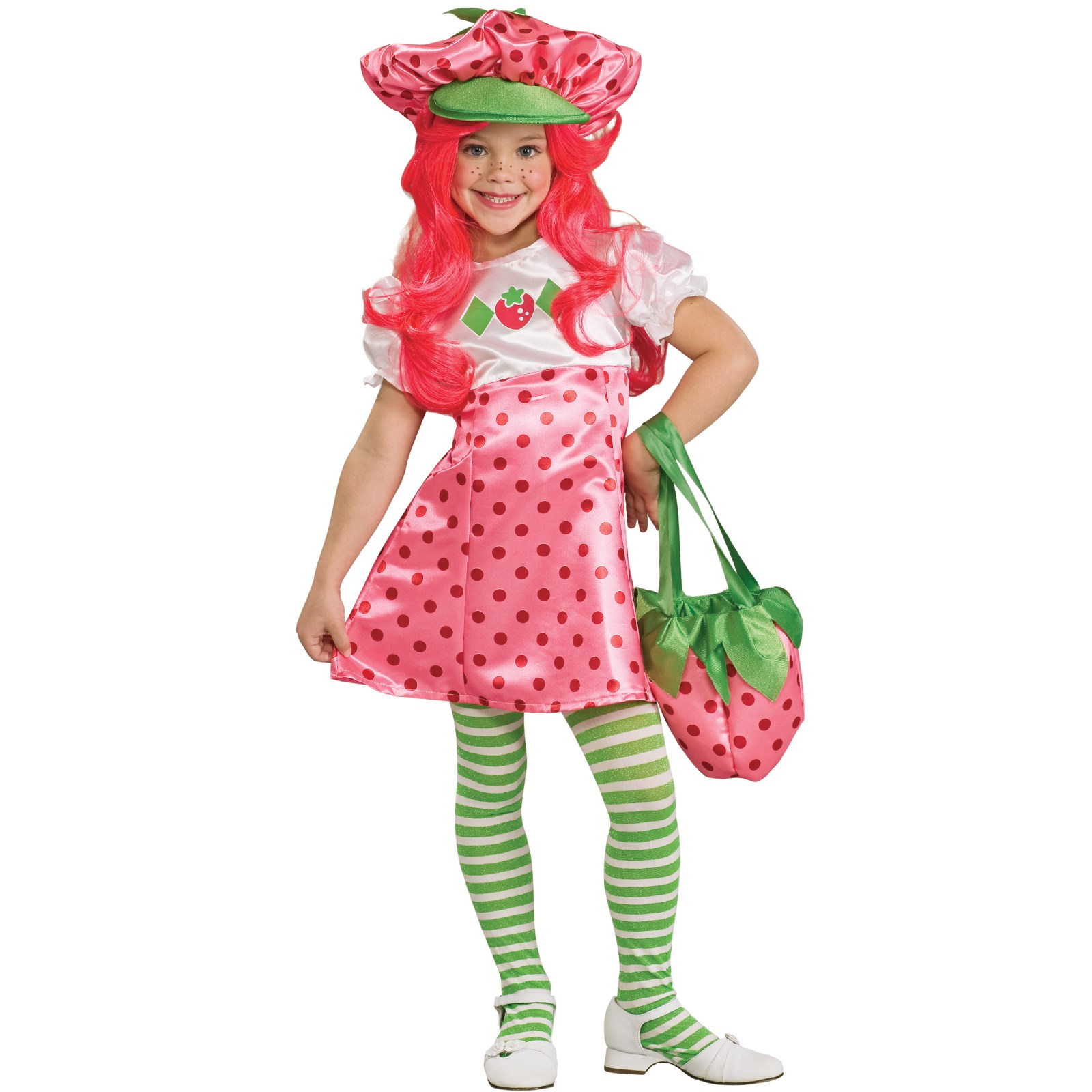 Strawberry Shortcake Deluxe Toddler / Child Costume Toddler