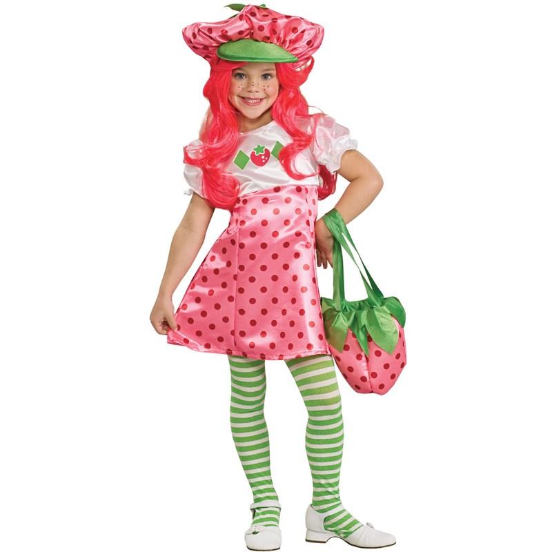 Strawberry Shortcake Deluxe Toddler / Child Costume Small