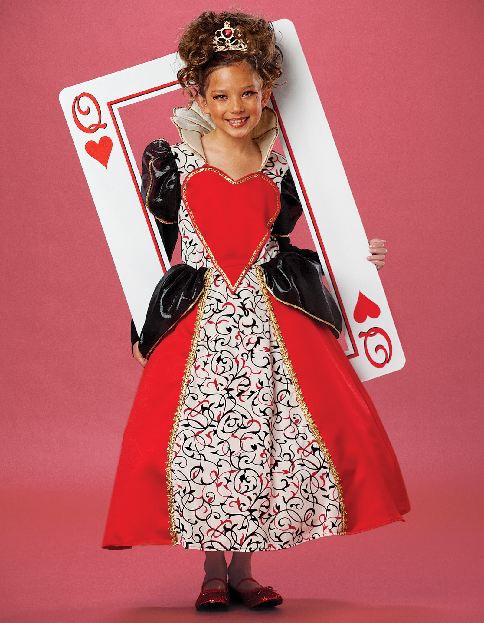 Queen of Hearts Child Costume Large (10)