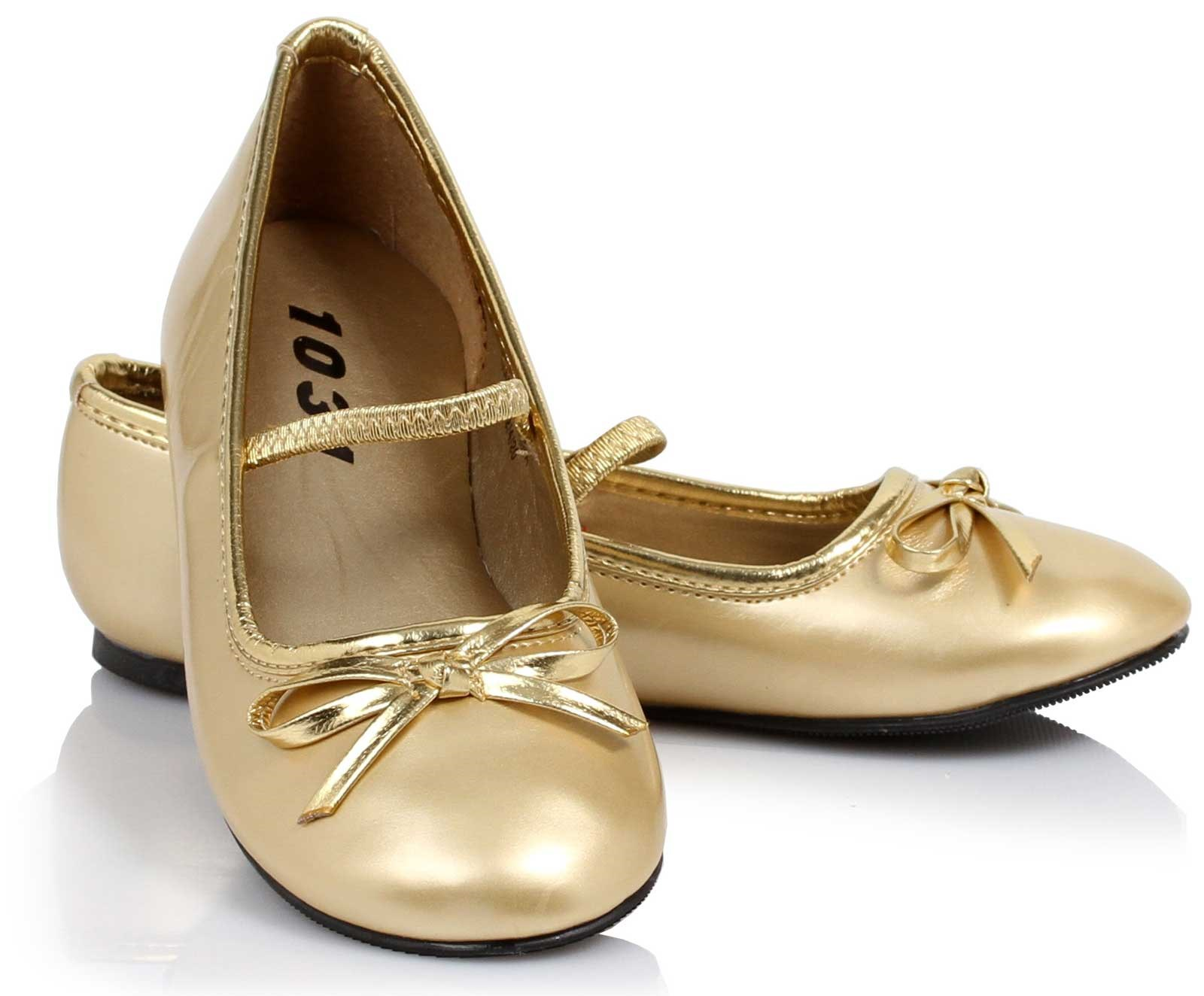 Image of Ballet Flats (Gold) Child Child 13/1