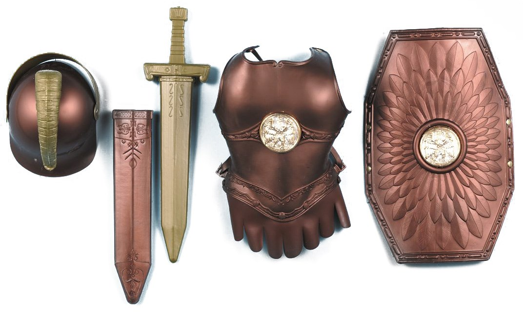 Roman Armor Child Costume Kit One Size