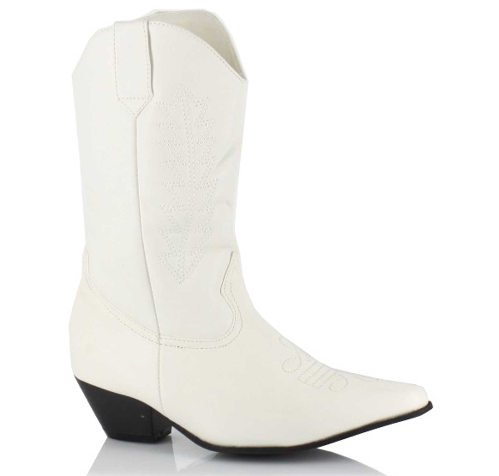 Cowboy Boots (White) Child Small (11/12)