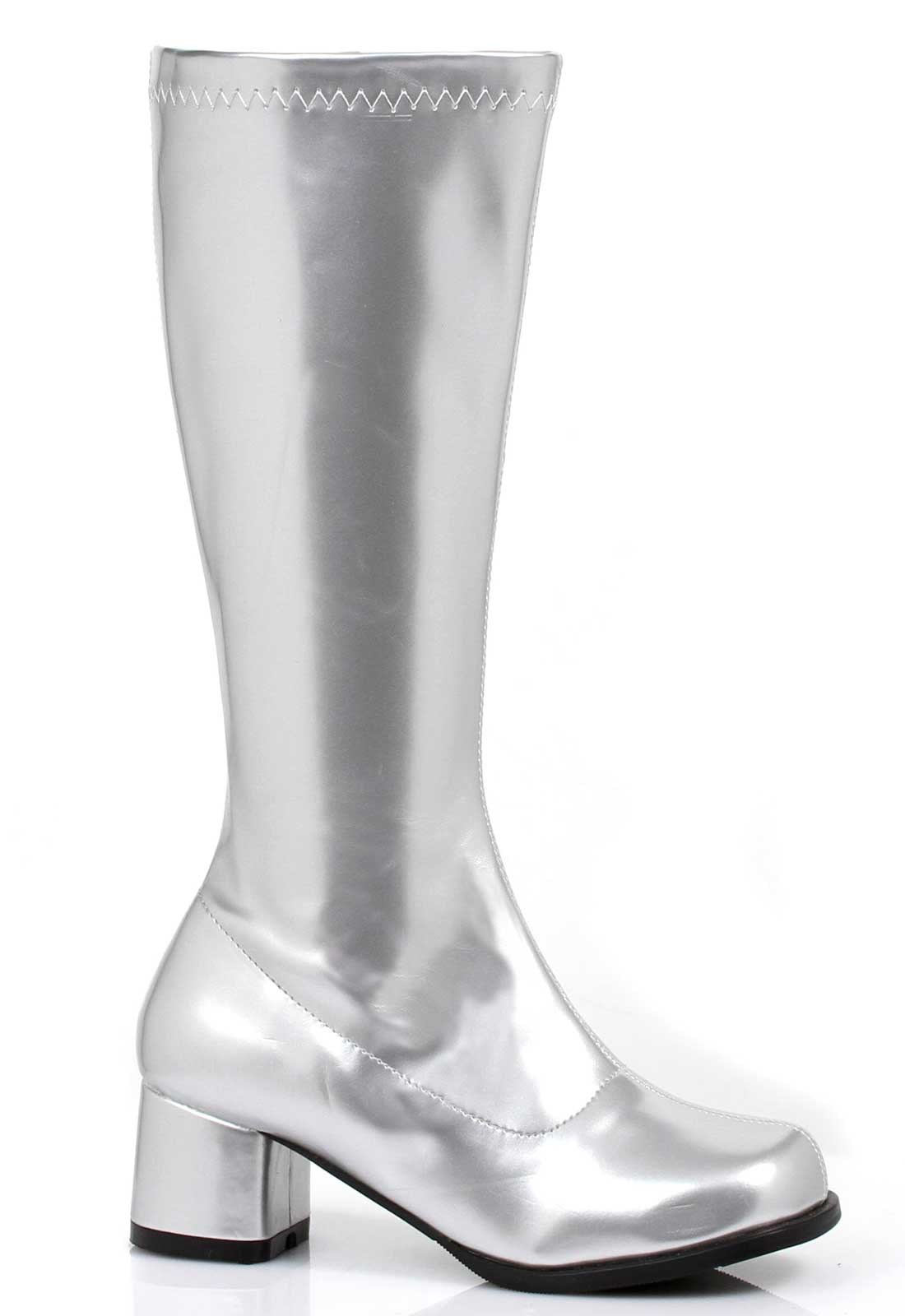 Image of Gogo Boots (Silver) Child Small (11/12)