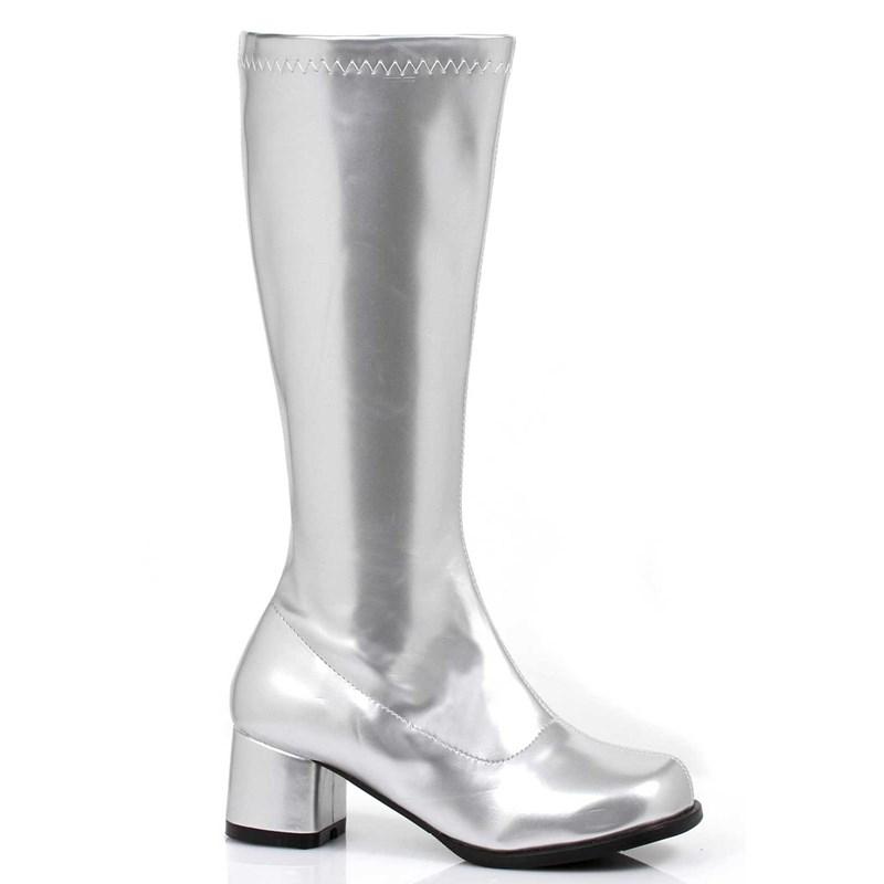 Gogo Boots (Silver) Child Medium (13/1)