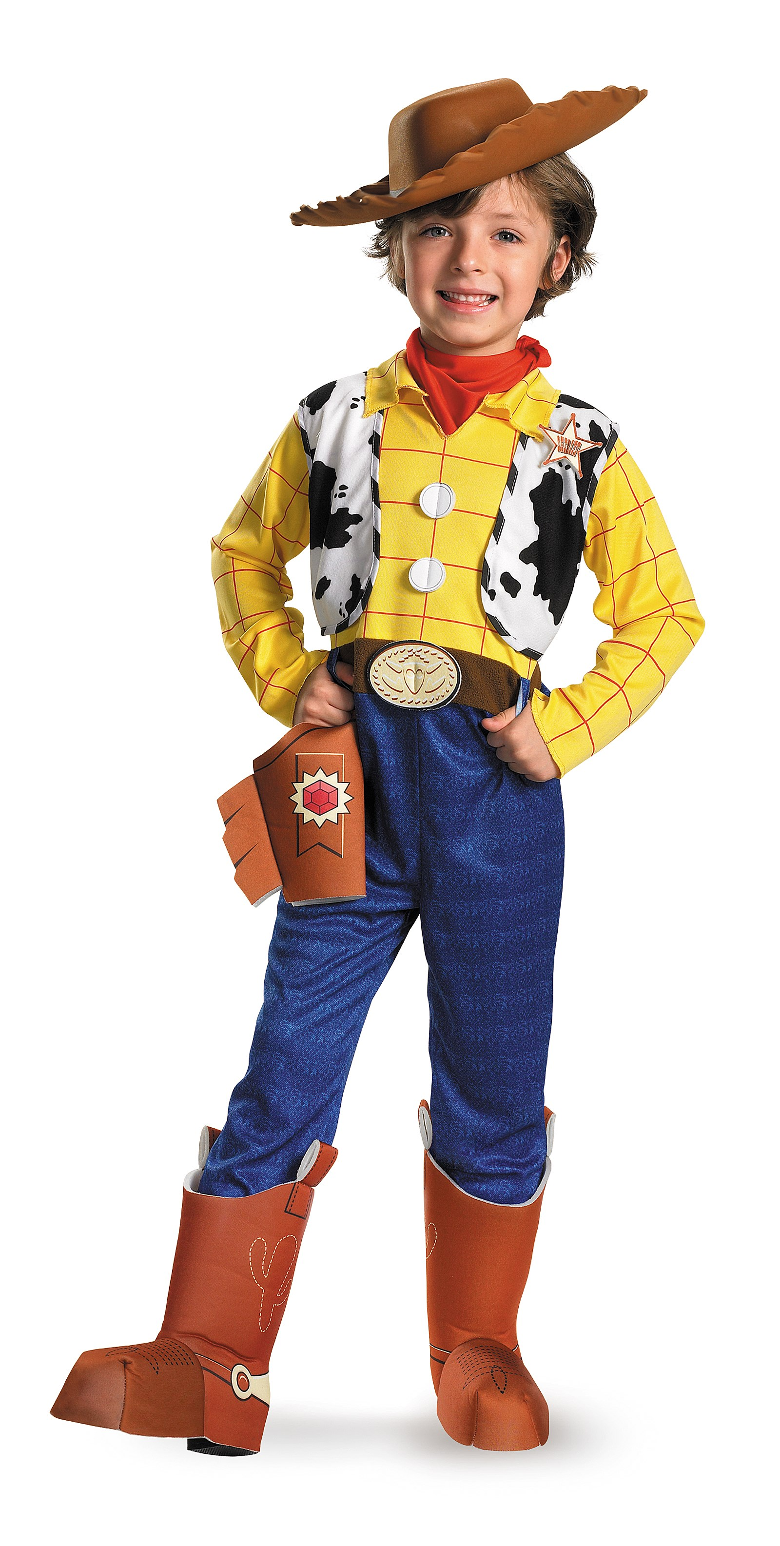 Toy Story - Woody Deluxe Toddler / Child Costume 3-4