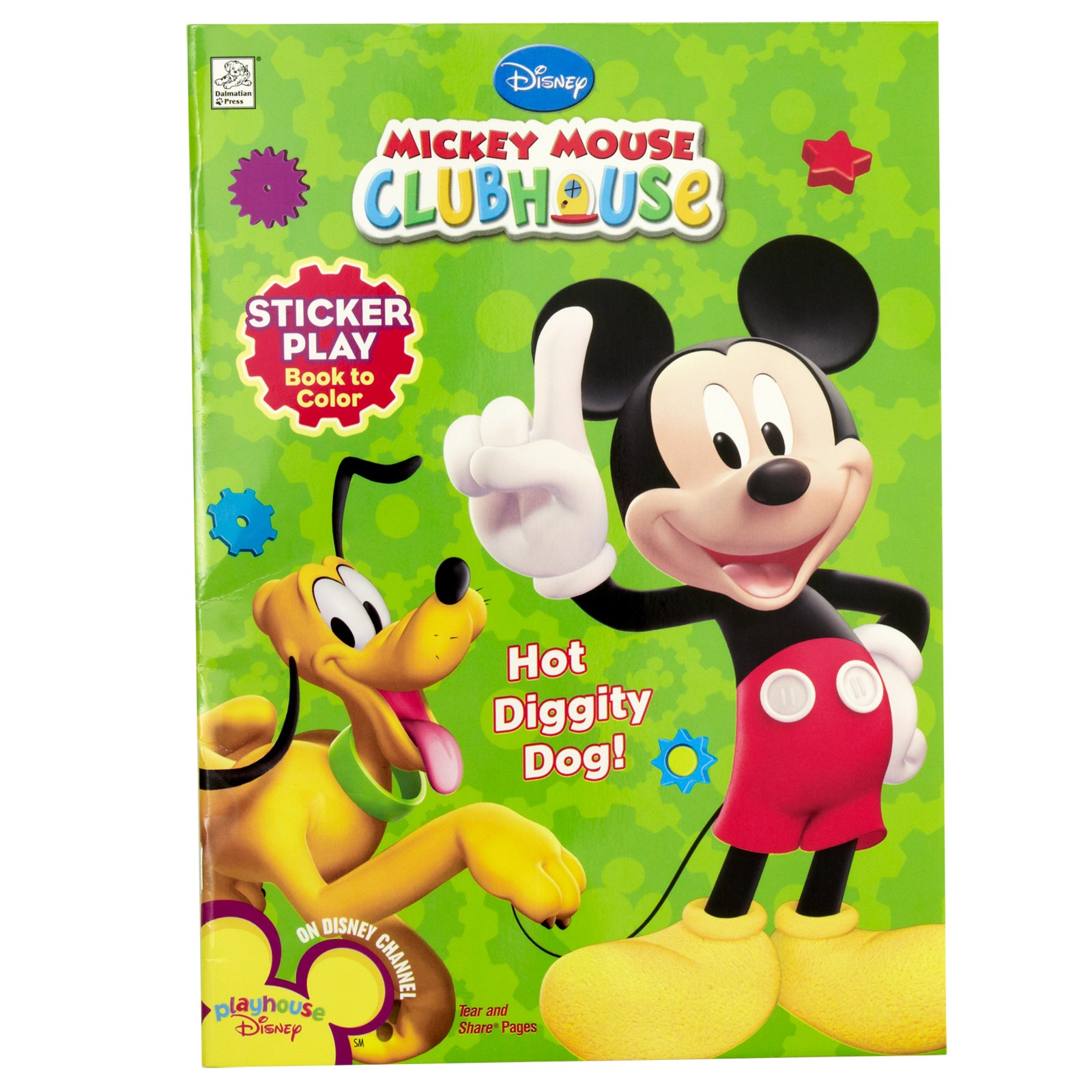 Disney Mickey Mouse Clubhouse Sticker Play Book