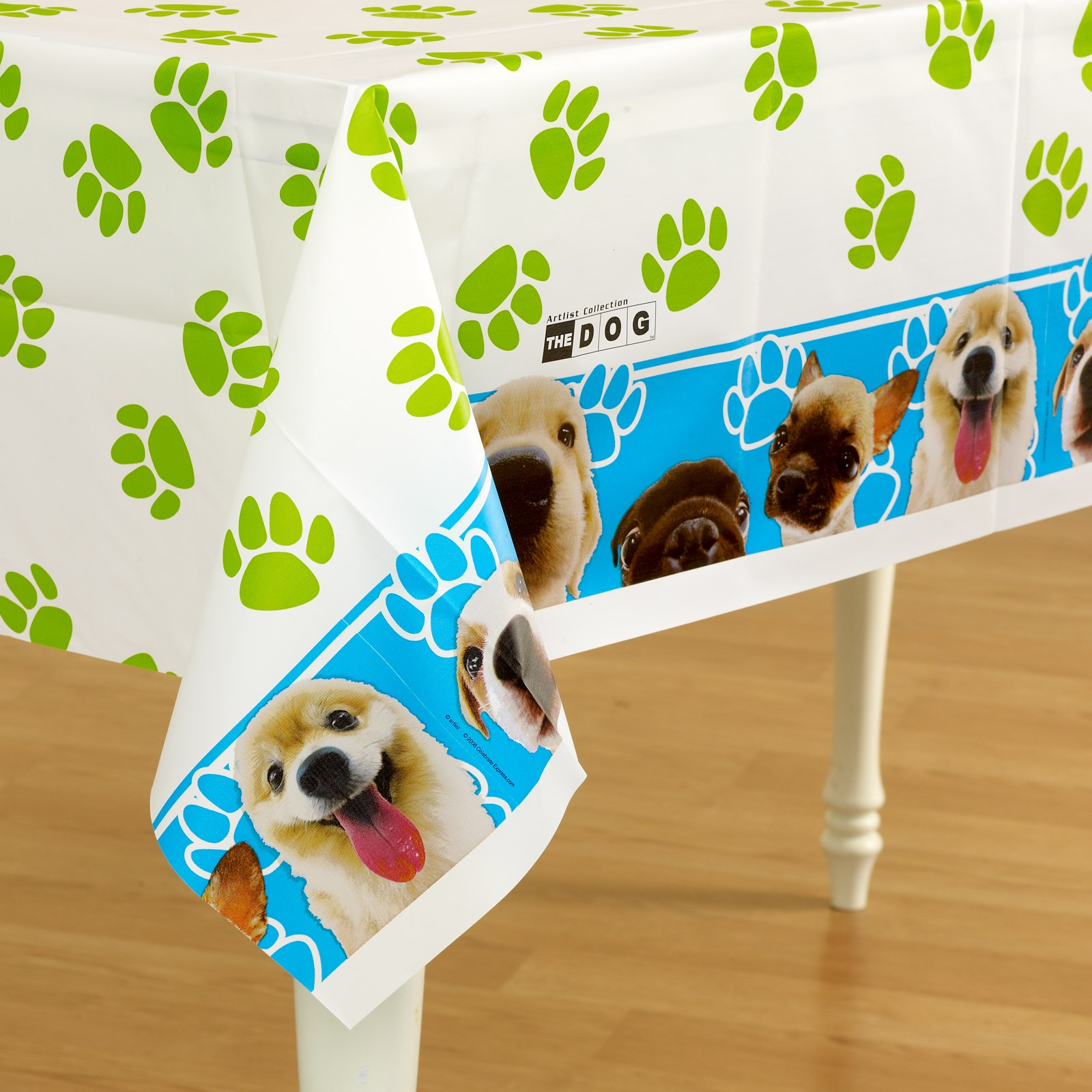 The DOG Plastic Tablecover