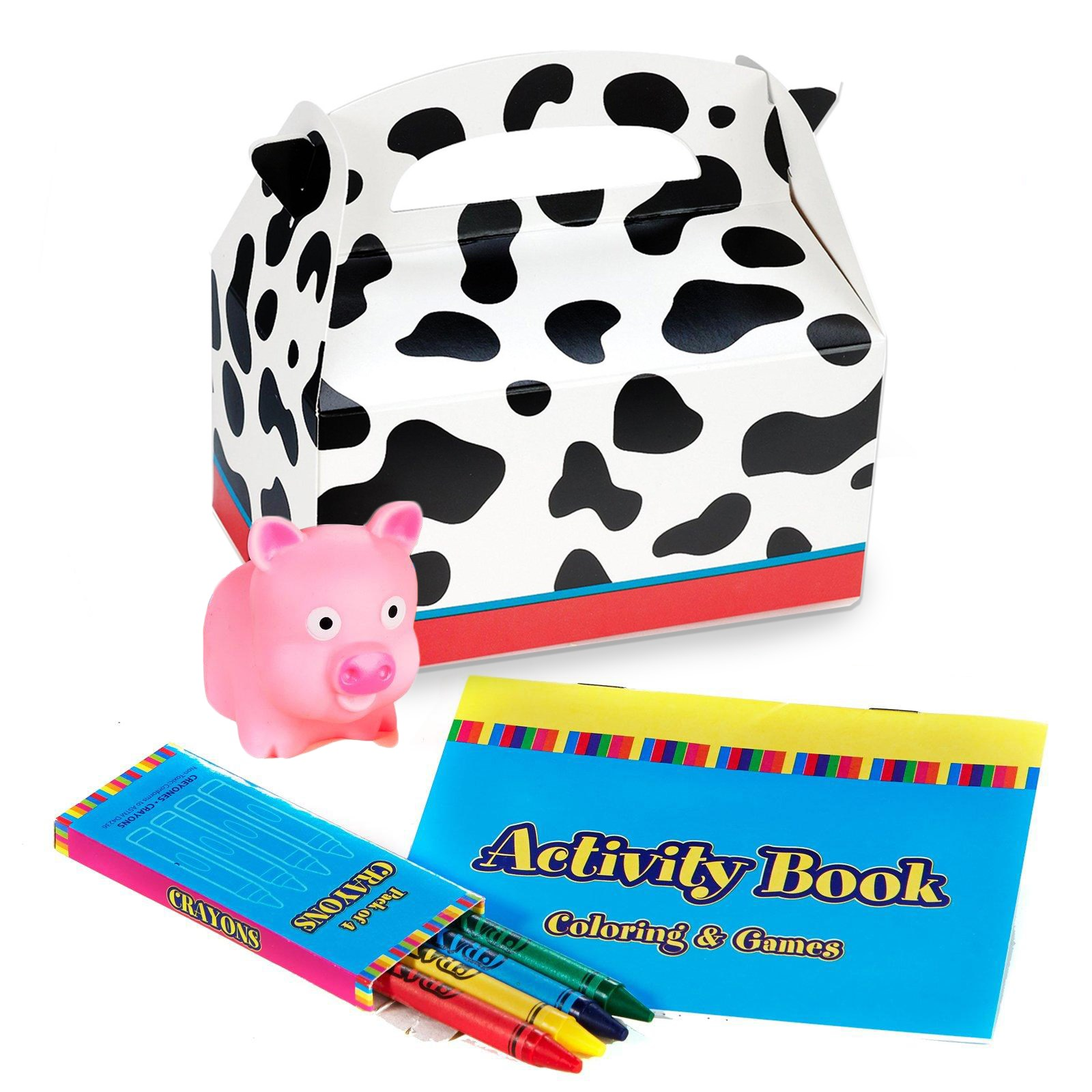 Image of Barnyard 2nd Birthday Party Favor Box