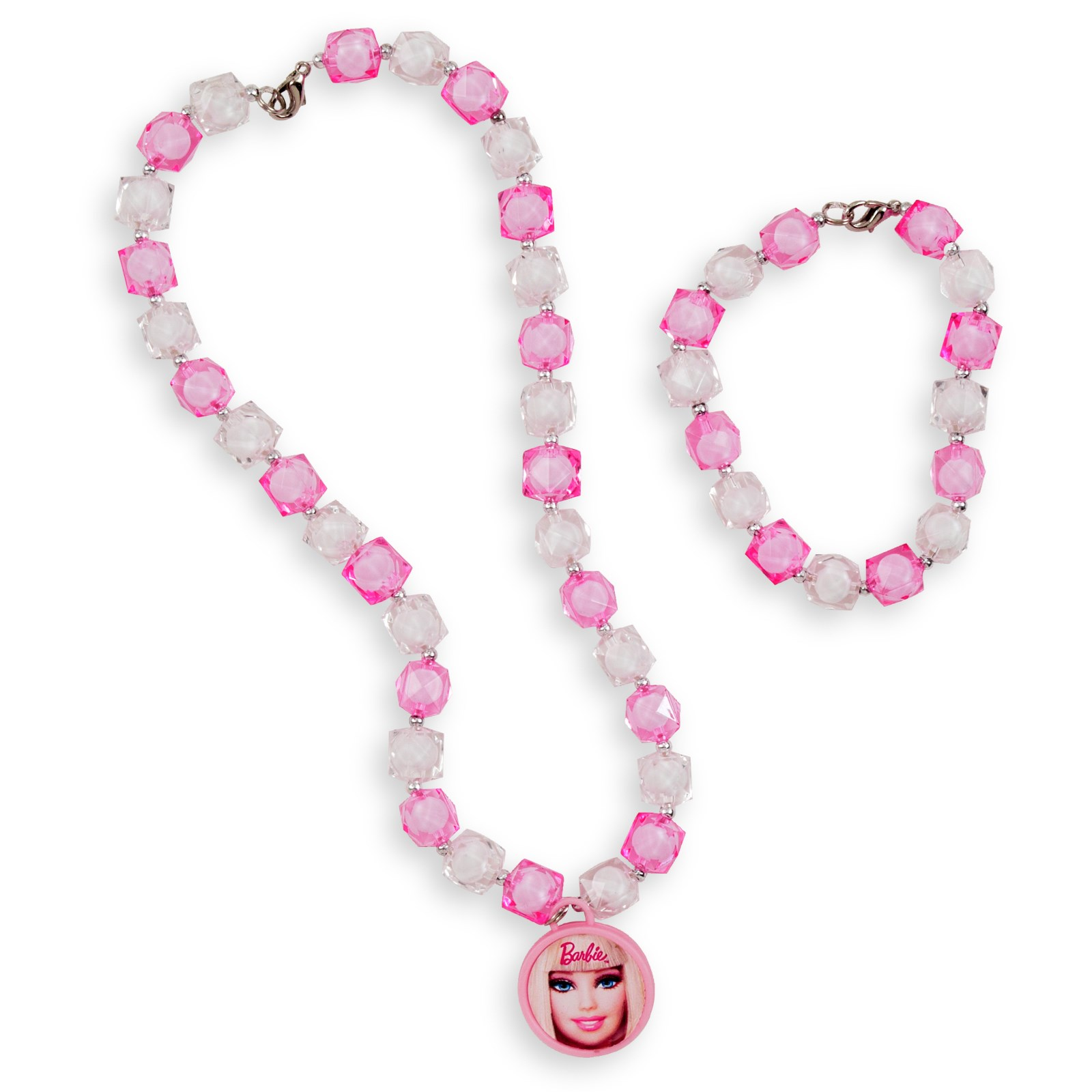 Barbie All Doll'd Up Bracelet Necklace Set