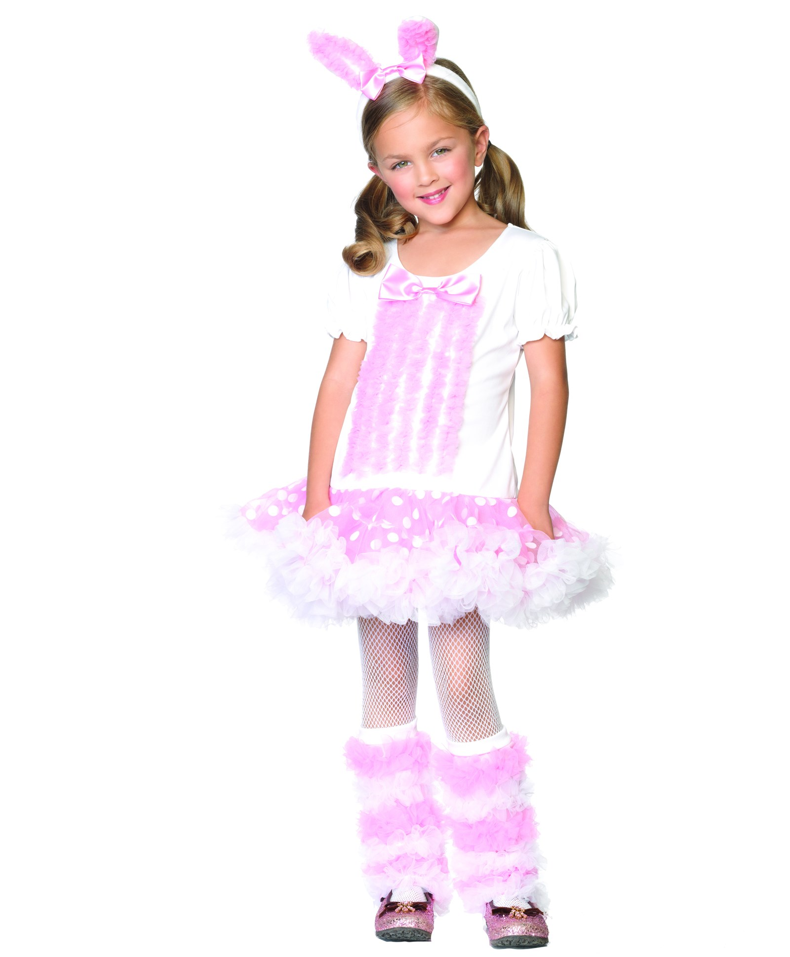 Fluffy Bunny Toddler / Child Costume Medium (7-10)