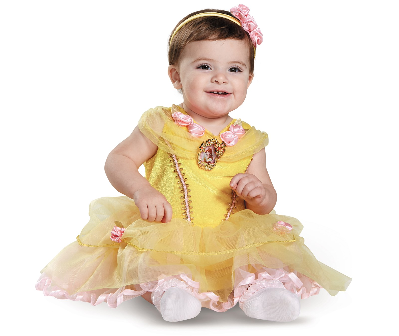 Disney Beauty and the Beast - Belle Infant Costume 12-18 Months