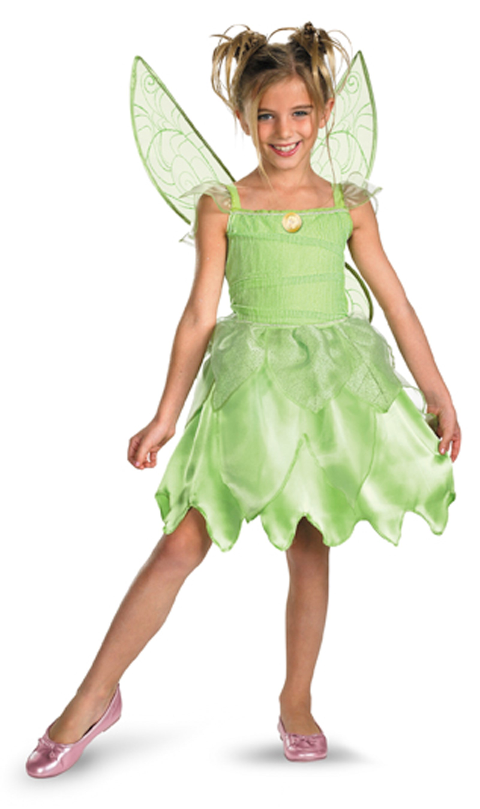 Tink and the Fairy Rescue - Tinker Bell Classic Child Costume Toddler (3T-4T)