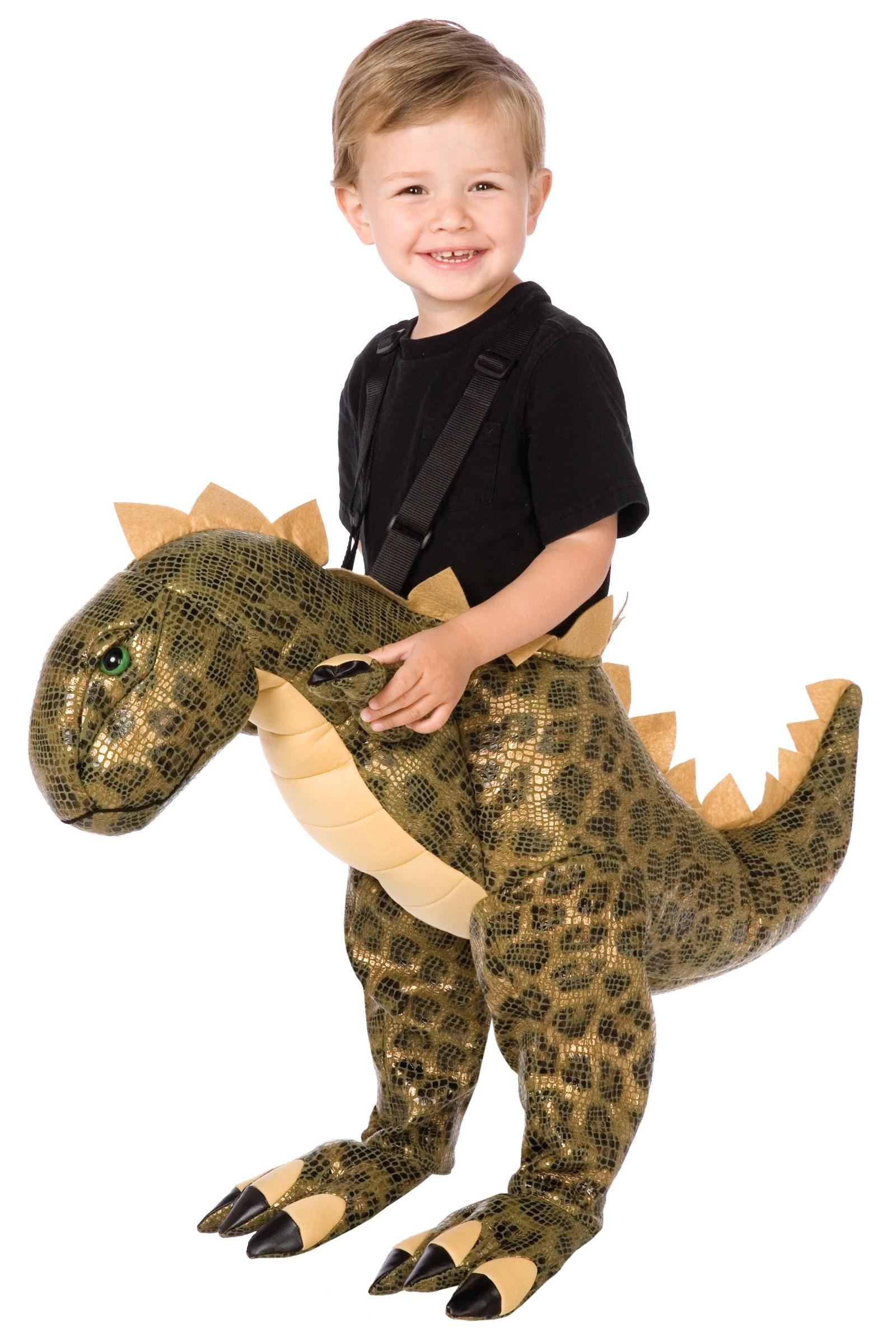 Image of Plush T-Rex Child Costume One Size (Fits Sizes 4-8)